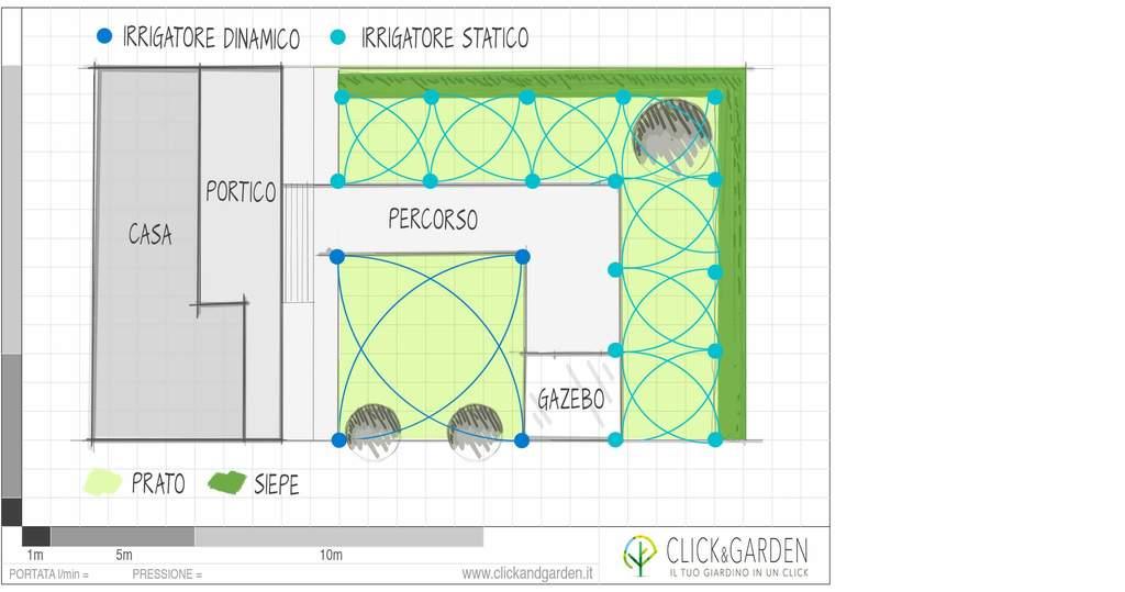 Progetto di un giardino excellent di un parco pubblico for Impianto irrigazione giardino progetto