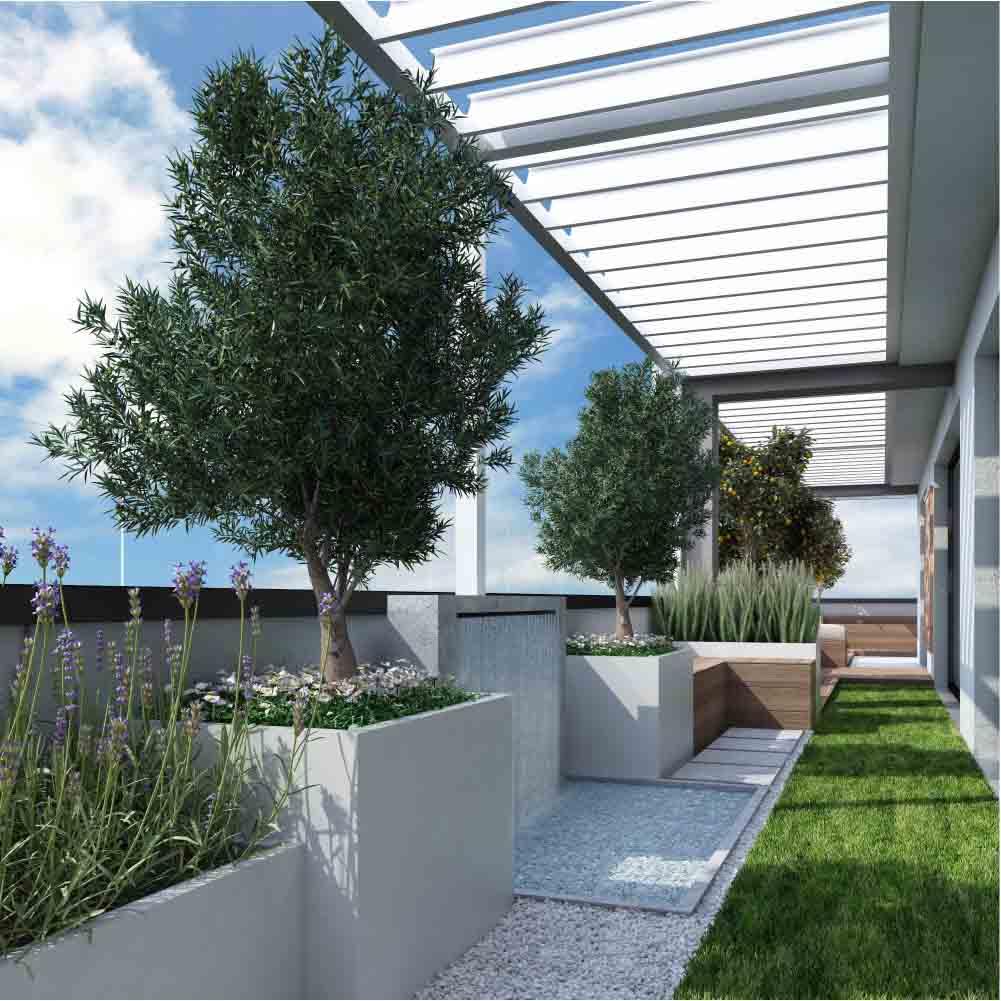 Balcone Lungo E Stretto come valorizzare un terrazzo stretto e lungo.